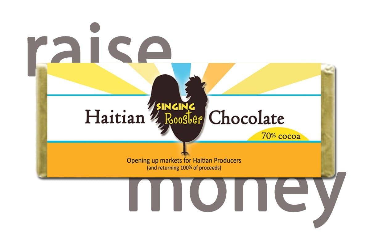 Haitian chocolate fundraiser