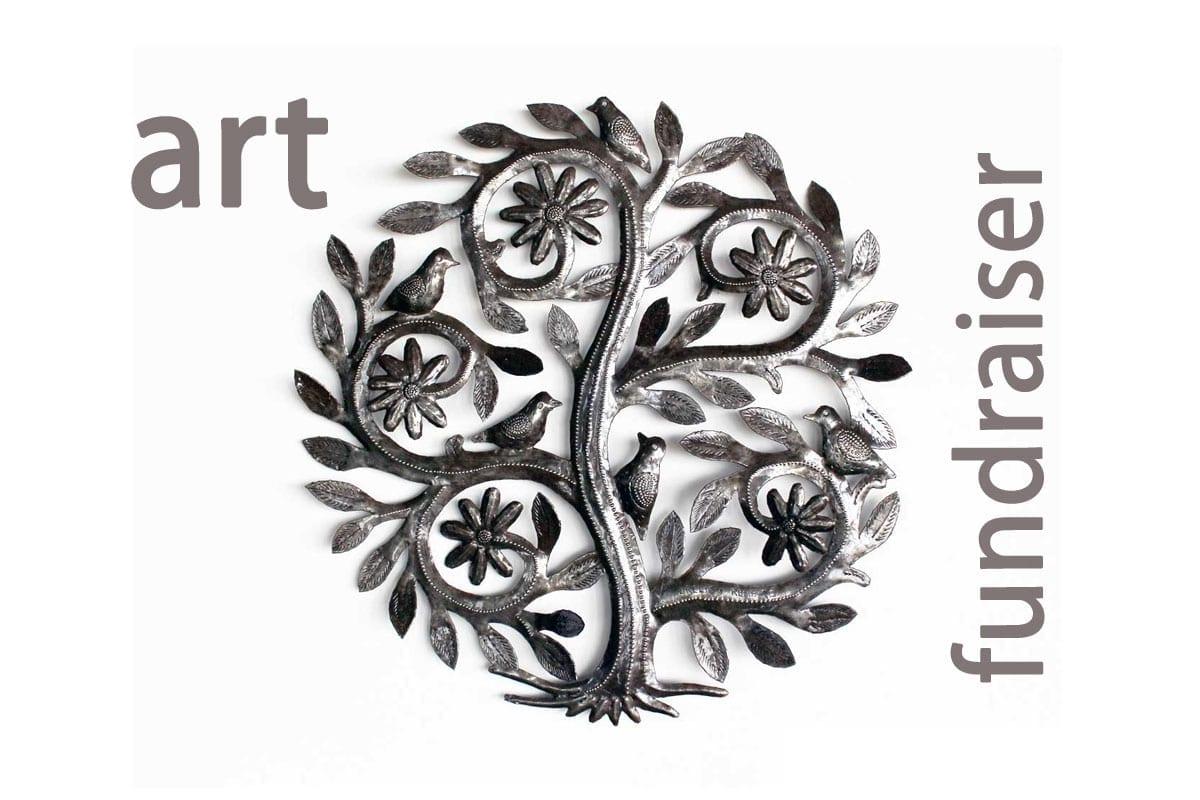 Haitian art fundraiser, Singing Rooster