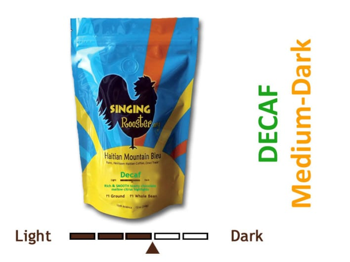 decaf Haitian coffee