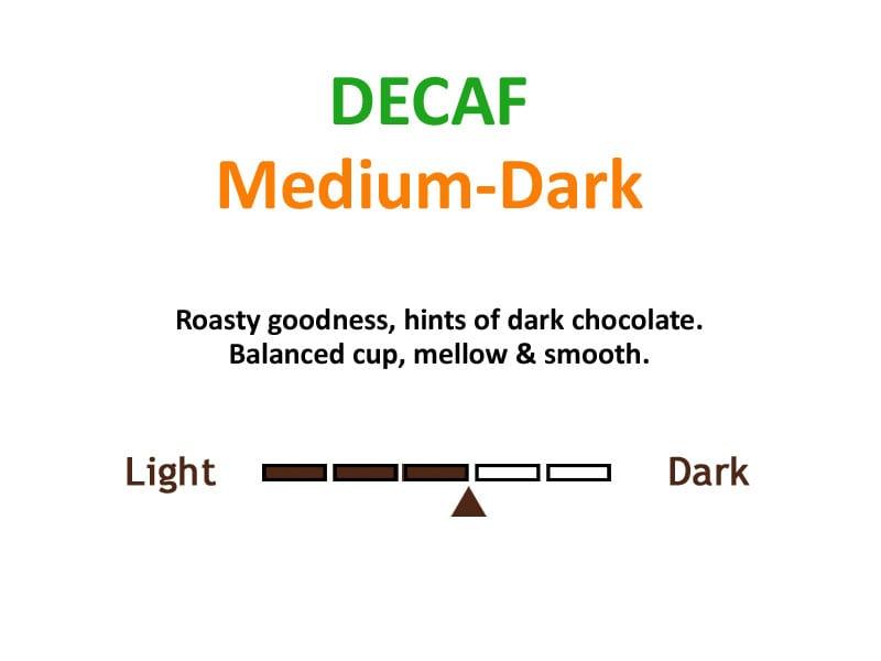 decaf haitian flavors