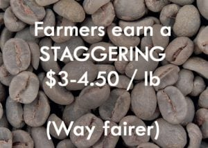 Haitian Farmers earn better than fair trade
