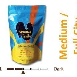 Medium Roast Haitian coffee