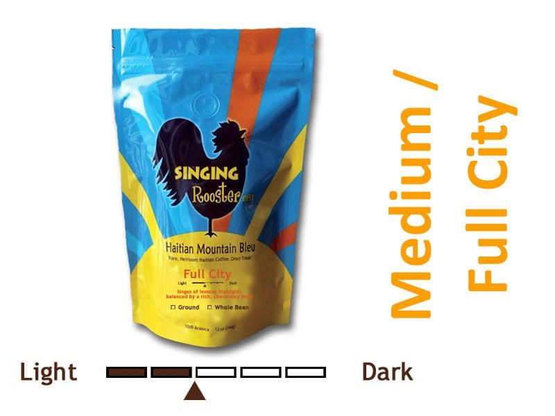 Medium Roast Haitian coffee