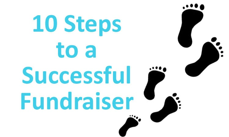 10 Steps to a successful fundraiser