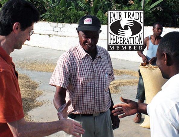 Fair Trade Green Haitian Mountain Bleu Blue Coffee beans for commercial and home roasting