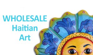 school fundraiser idea: Haitian coffee, chocolate, art