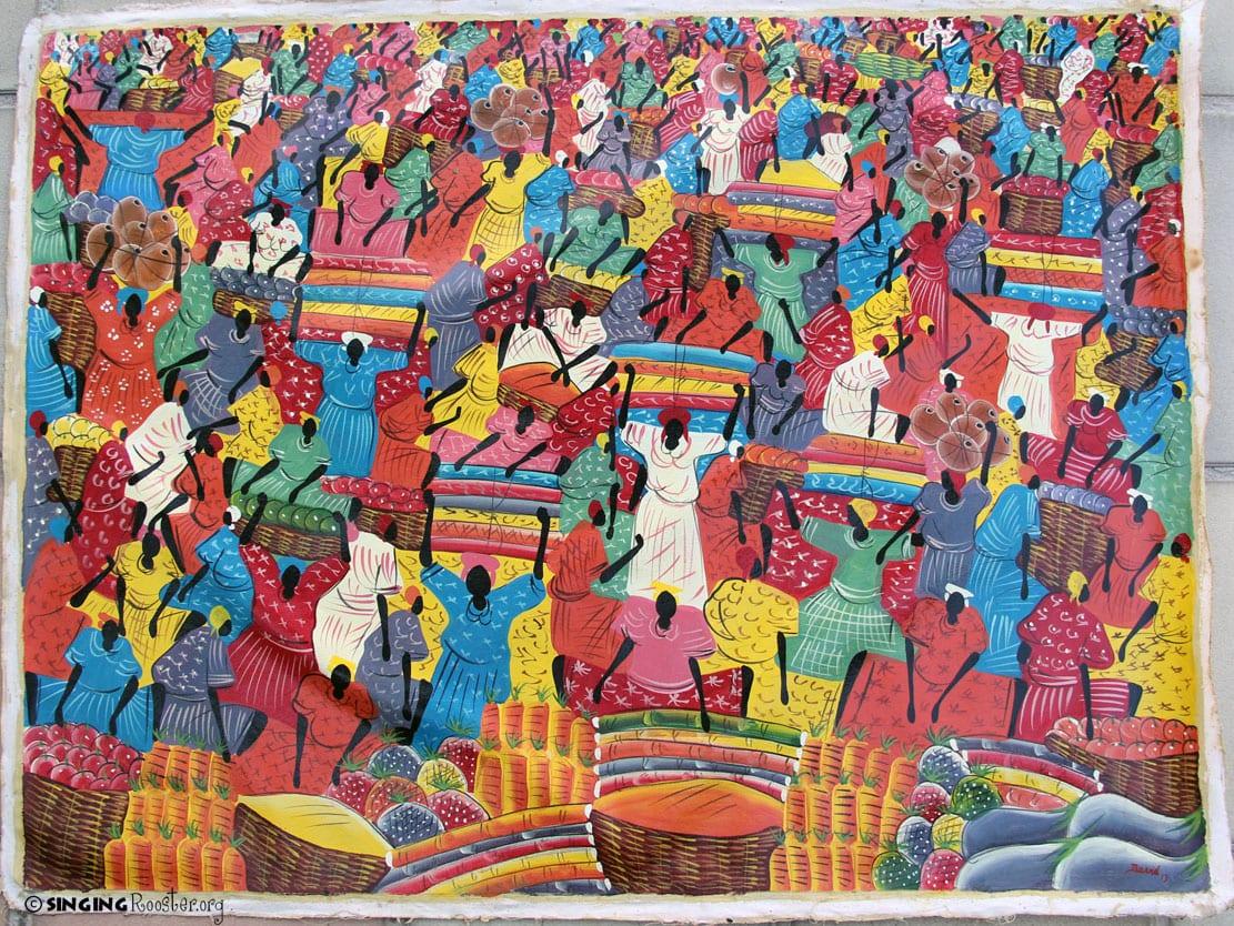 Famous Haitian Paintings
