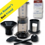 Home roaster's favorite coffee maker