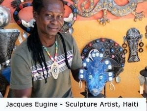 Original, one of a kind art Haiti