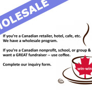 wholesale Haitian coffee, Canada