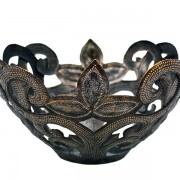 Metal Fruit Bowl, Haiti