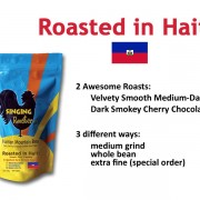 Haitian coffee roasted in Haiti, Singing Rooster