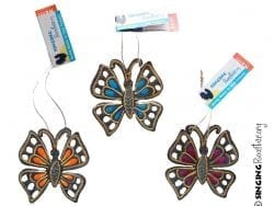 butterfly butter fly ornaments, Christmas