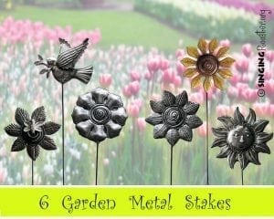 buy painted garden stake online