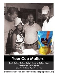 Your cup matters; switch your daily cup to #Haitiancoffee, see Haiti prosper