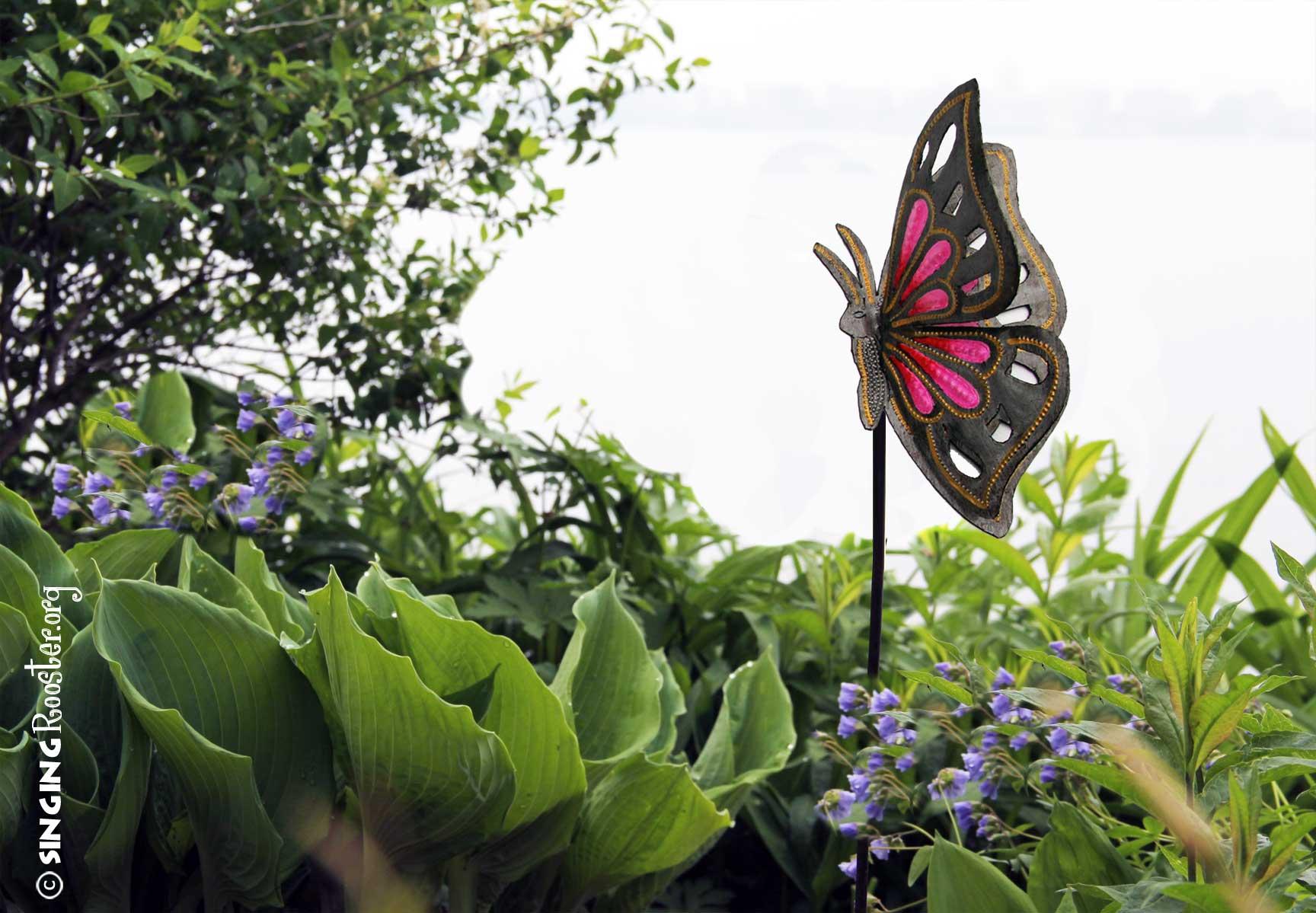 ... Buy Butterfly Garden Stake Online ...