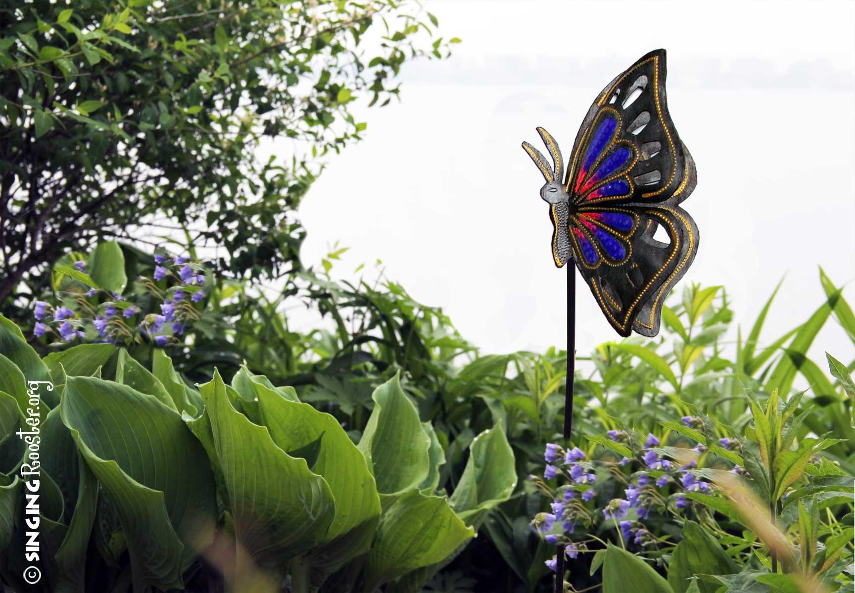 Delightful ... Where To Find Monarch Butterfly Garden Art Online ...