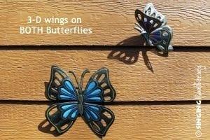 buy butterflies garden art online