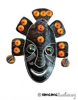 Metal wall art Haiti, shop Singing Rooster