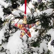 christmas star small snow