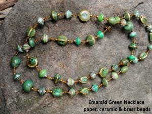 emerald green necklace