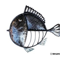 fish metal wall art