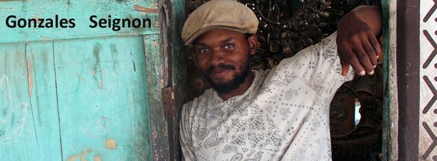 Metal artist, Gonzales, Croix des Bouquet Haiti