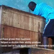 haiti cacao fermentation