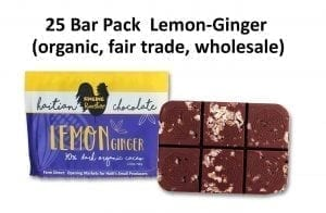 Lemon-Ginger Haitian Chocolate Bars – new wholesale pack