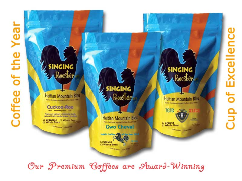 premium roasted and green coffee from haiti