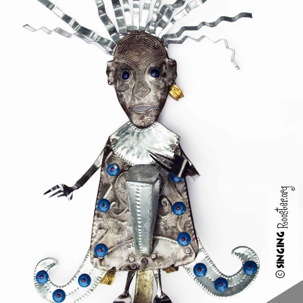 buy Haitian art metal sculptures wall art online