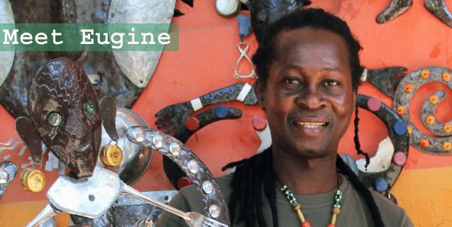 haitian artist eugine