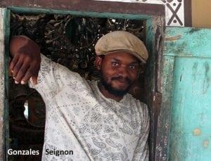 Haitian artist, Seignon Gonzales
