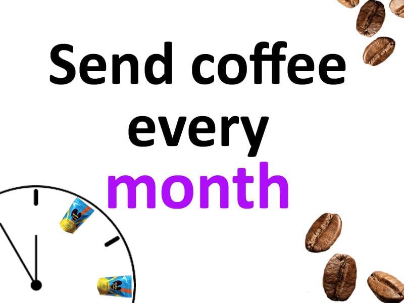 haitian coffee subscription month