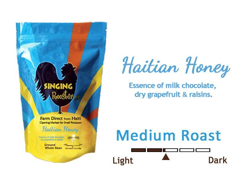 Haitian honey coffee