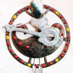 haitian recycled metal art
