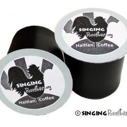 single serve Haitian coffee cups