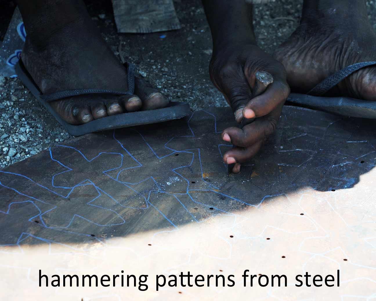 hammering patterns
