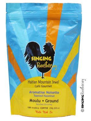 Hazelnut Haitian coffee