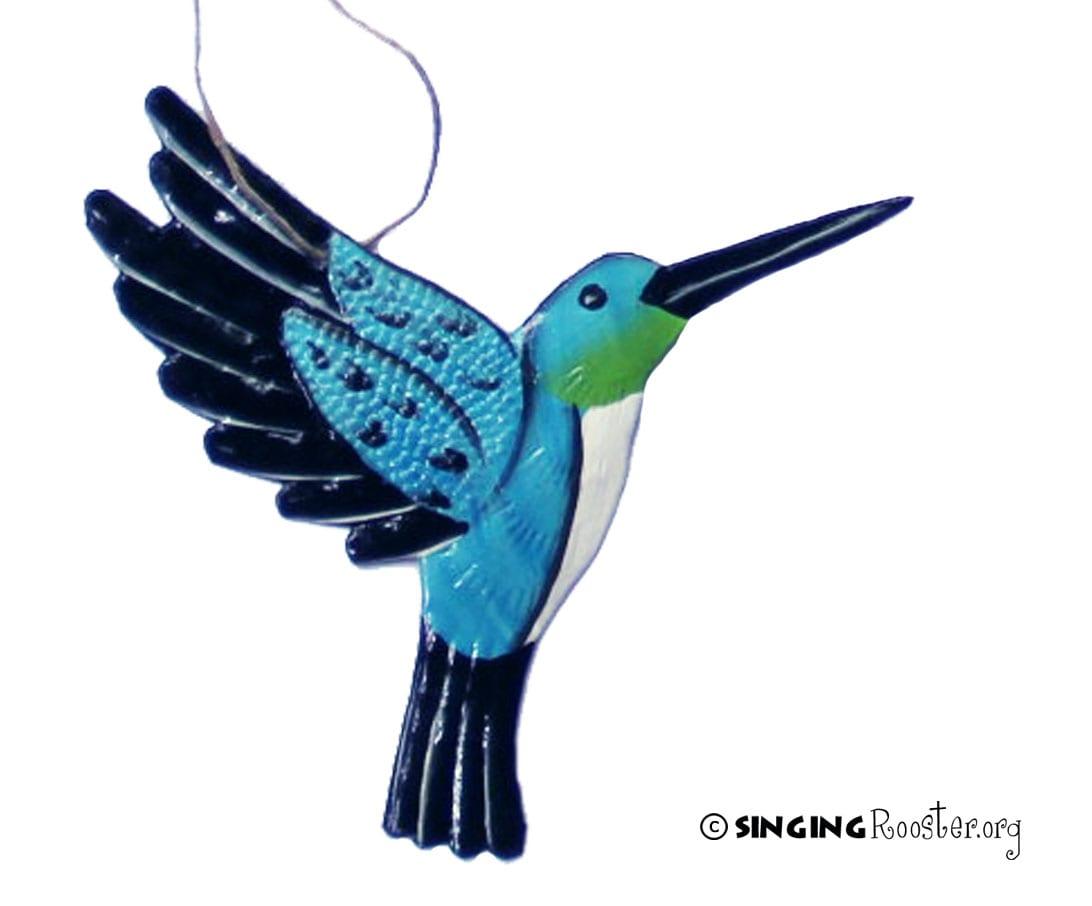 buy humming bird Christmas ornaments online, Haiti