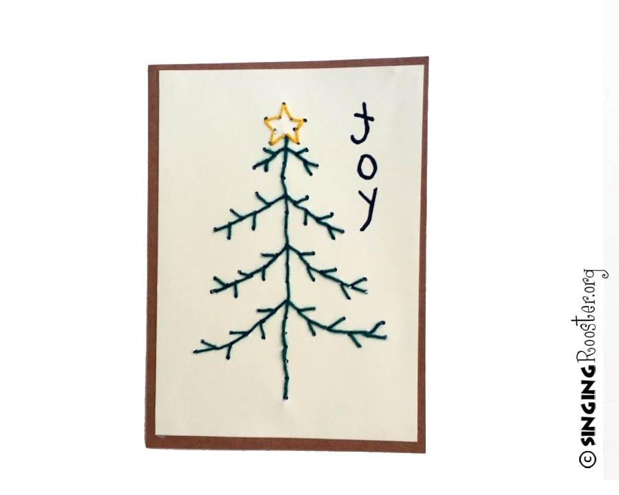 joy christmas card haiti
