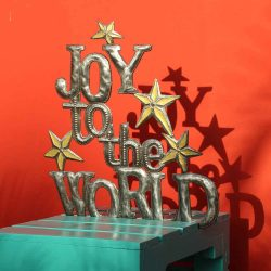 Joy to the World Christmas decor