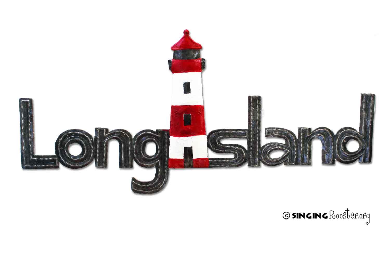 Long Island word art