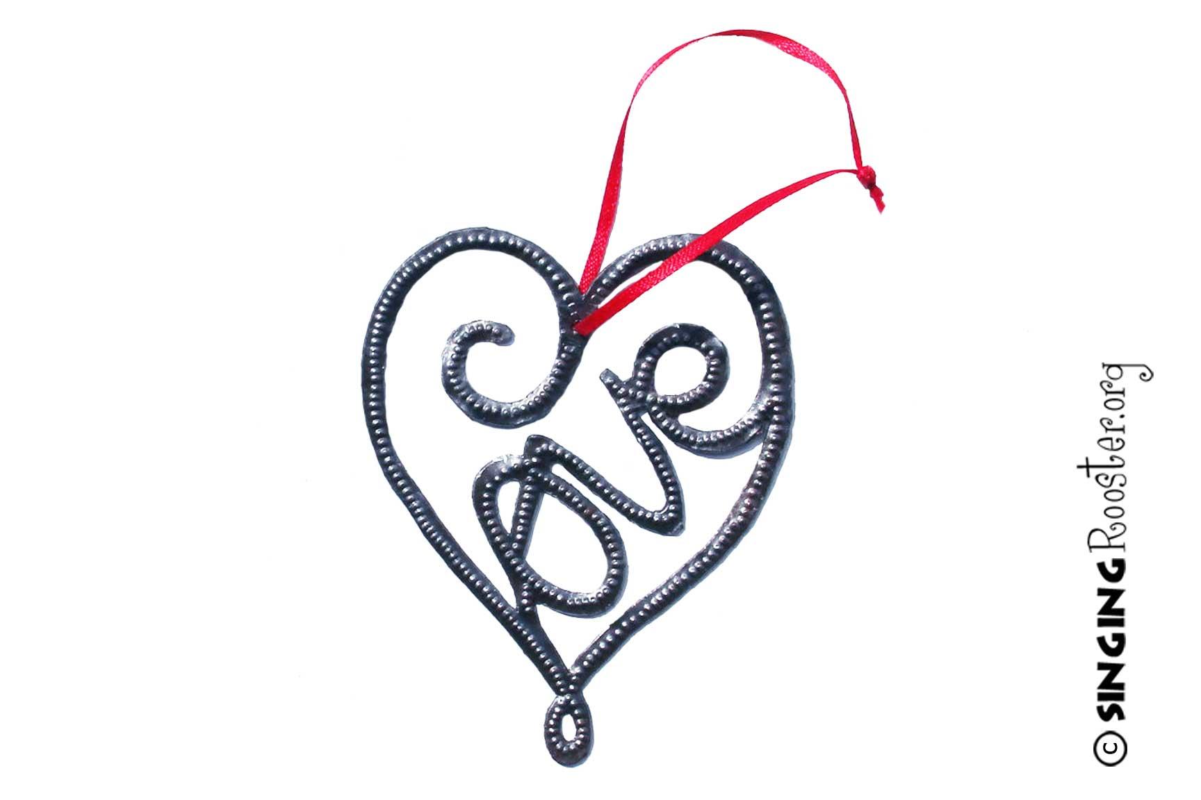 Love ornament, Haiti