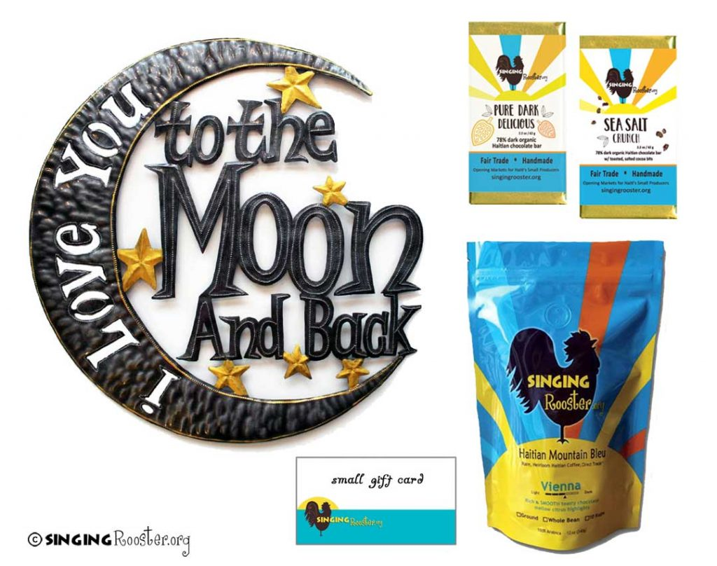 love to moon gift