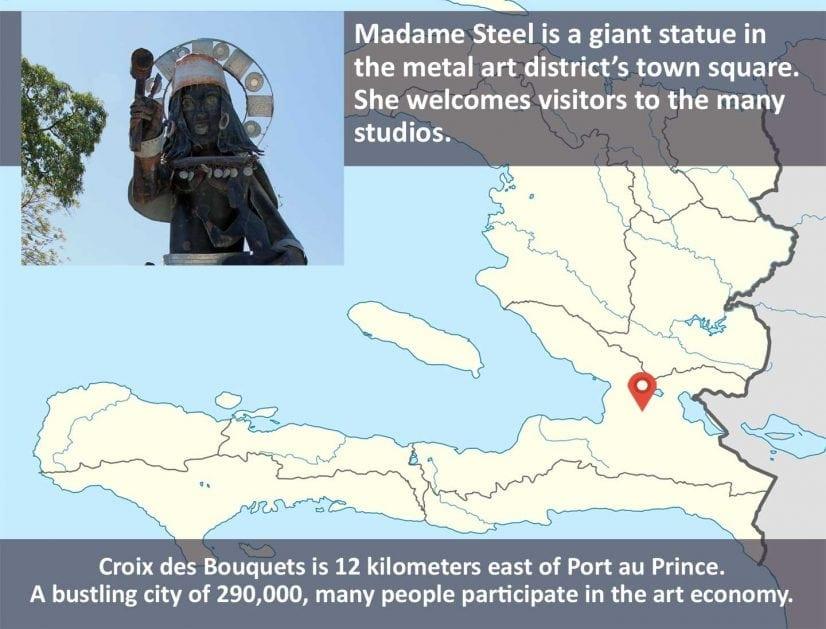 Madame Steel, Croix des Bouquet Haiti