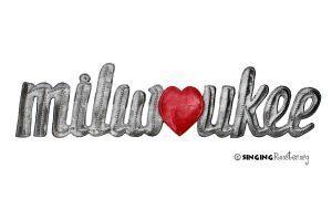 milwaukee word art gifts