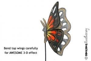 buy monarch butterfly garden art online