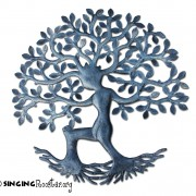Metal Wall Art from Haiti, Tree of Life