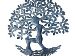 Metal Wall Art from Haiti, Tree of Life